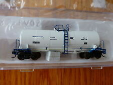 Atlas N #50001024 Ontario Northland (Rd #6) 17,600 Gal Corn Syrup Tank Car