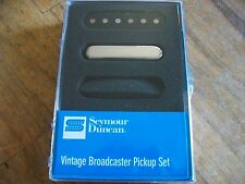 SEYMOUR DUNCAN VINTAGE BROADCASTER PICKUP TELECASTER SET STR-1N AND STL-1B NEW