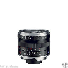 New Carl Zeiss Biogon T* 28mm F2.8 ZM Wide Angle Lens Black Leica M M9 MP