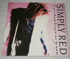 """SIMPLY RED - IF YOU DON'T KNOW ME BY NOW / MOVE ON OUT 1989 YZ377 WEA RECORDS 7"""""""