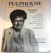 Pulphouse Weekly Magazine – US Issue #1 - 1 June 1991 - Norton, Resnick, Somtow