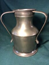 LATE 19th Early 20th ? Century PEWTER 3 HANDLED LOVING JUG Marked LONDON ENGLAND