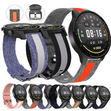 For Samsung Gear S3 Frontier/Gear2 Neo R381 Denim Canvas Nylon Watch Band Strap