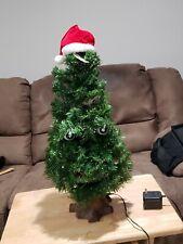 1996 Gemmy Douglas Fir Talking Christmas Tree Box & Instructions Excellent Cond.