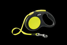 flexi® Seil/Gurt neon Hundeleine Flexileine Rollleine Automatik Giant Prof.