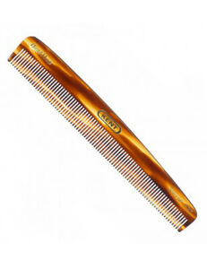 Kent F3T 160mm Handmade Womens Medium Sized Fine Toothed Dressing Hair Comb