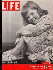 1949 Life December 19 - Okinawa; Jackie Lee Barnes; Mr. Maytag; Ezio Pinza