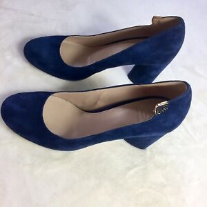 Tory Burch Suede Elizabeth Leather Shoes