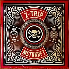 Shepard Fairey - Z-Trip - MSTRKRFT Mix CD - OBEY -2008-RARE- STILL SEALED - NEW