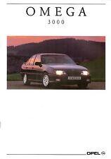 Prospetto/brochure OPEL OMEGA 3000 08/1991