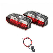 2x LED Door Laser Projector Light For VW Golf Jetta MK5 Tiguan Passat DC12V New7