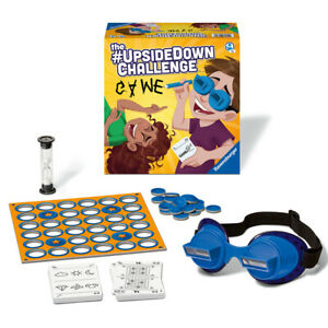 Ravensburger Children's Game 20672 Upside Down Challenge 2-6 Players Ages 7+