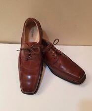 "Florsheim ""Curtis"" Comfortech Brown Leather Bicycle Toe Oxford Shoes Sz 9.5 D"