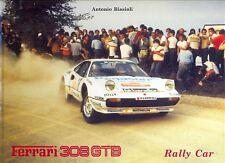 Ferrari 308GTB Rally Coche-escaso libro de edición limitada