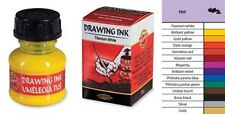 Koh-I-Noor Artists' Drawing China Ink 20g Bottles 14 Colours Shellac Solution