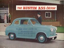Austin A35 Saloon 1956-59 UK Market Sales Brochure 2-dr 4-dr