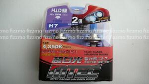 1x MTEC halogen SUPER WHITE H7 high quality