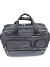 Tumi Alpha 2 Expandable Organizer Laptop Brief Pewter Carry On Luggage $455 NWD