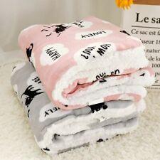 Winter Dog Bed Pet Blanket Pet Sleeping Mat Warm Cat Dog Bed Cover Pet Sofa Cush