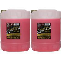 20L Pemco Anticongelante Fresco Tipo G12 Refrigerante 912 Rojo PM0912-10