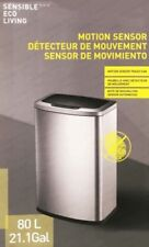 EKO Sensible Eco Living 80L Hands-Free Motion Sensor Large Waste Bin/Trash