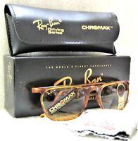 Ray-Ban USA Vintage NOS B&L Asbury Chromax W1725 Driving Srs NewInBox Sunglasses