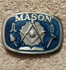 Pewter Belt Buckle fraternal Freemasonry Mason Masonic NEW