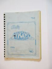 1980 Bally Viking Pinball Manual W/Bonus