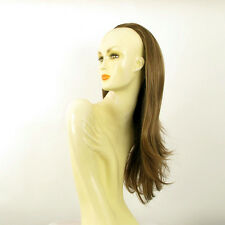 DT Half wig HairPiece extensions long straight light brown golden 24.4 :13/12