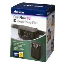 Aqueon QuietFlow 10 E Internal Power Filter 10gal SM  Free Shipping