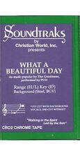 What A Beautiful Day ~ Soundtraks ~ Christian ~ Karaoke ~ Cassette ~ Good