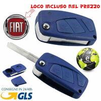 GUSCIO COVER CHIAVE 3 TASTI TELECOMANDO FIAT PANDA DUCATO PUNTO STILO CON LOGO