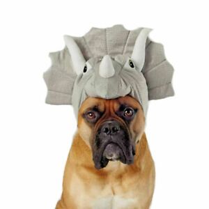 Halloween Triceratops Dog and Cat Costume - X-Small / Small