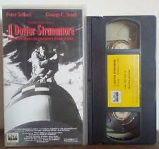 VHS FILM Commedia IL DOTTOR STRANAMORE peter sellers george scott NO DVD(VHS10)