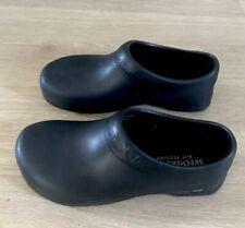 Skechers Oswald-Clara Clogs Women 8 Work Scrub Ups Non slip Black