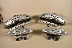 04-06 MERCEDES BENZ CL55 BREMBO CALIPERS LEFT RIGHT REAR SIDE BACK OEM