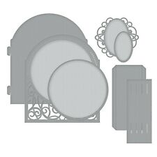 """Spellbinders"""" Shapeabilities Grand Dome 3D Card Die, Metal, Brown, 24.8 x 14...."""