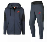 Nike Air Mens Tracksuit Fleece Hoodie Joggers Navy S M L XL Limited Edition