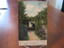 "1906 ""The Tunnel In Cliff, Newport, R.I."" Postcard"