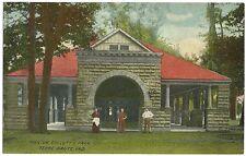 Pavilion Colletts Park Terre Haute IN Indiana Postcard