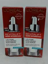 L'Oreal Paris Revitalift Derm Intensives 1.5% Pure Hyaluronic Acid Serum x2