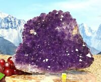 Spectacular Amethyst Quartz Crystal Cluster - Natural Raw Mineral Healing 1888g