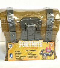 Fortnite Loot Battle Box Chest - Includes 7 Accessories-New/Sealed