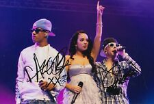 Dappy and Fazer Hand Signed 12x8 Photo - N Dubz - Music Autograph 2.