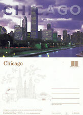 1990's CHICAGO ILLINOIS UNITED STATES UNUSED COLOUR POSTCARD