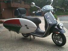 Surfboard moped rack carver surfboard rack longboard Moped motorcycle Vespa