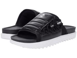 NWT Nike Asuna Men's Slides Black White/Anthracite CI8800 002  10 9 12 13 14 15