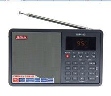 TECSUN ICR110 AM/FM RADIO/ RECORDER/ MP3 WMA WAV  PLAYER/USB Mini Speaker