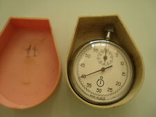 Vintage AGAT Russian USSR mechanical STOP WATCH 15 JEWELS