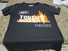 Under Armour Tough Mudder Ladies T-Shirt - Black - Medium - HeatGear - Semi Fit